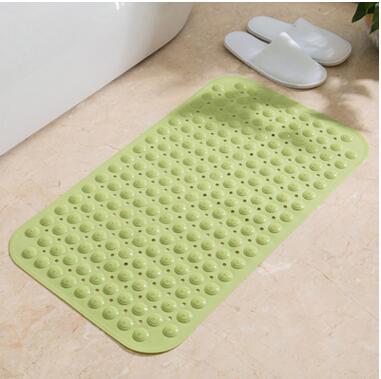 NEW Non Slip Bathroom Mat Massaging Gel Circles PVC Shower Mats bathroom carpet Pad Anti Skid baby Floor Carpet Bathroom Mats in Carpet from Home Garden