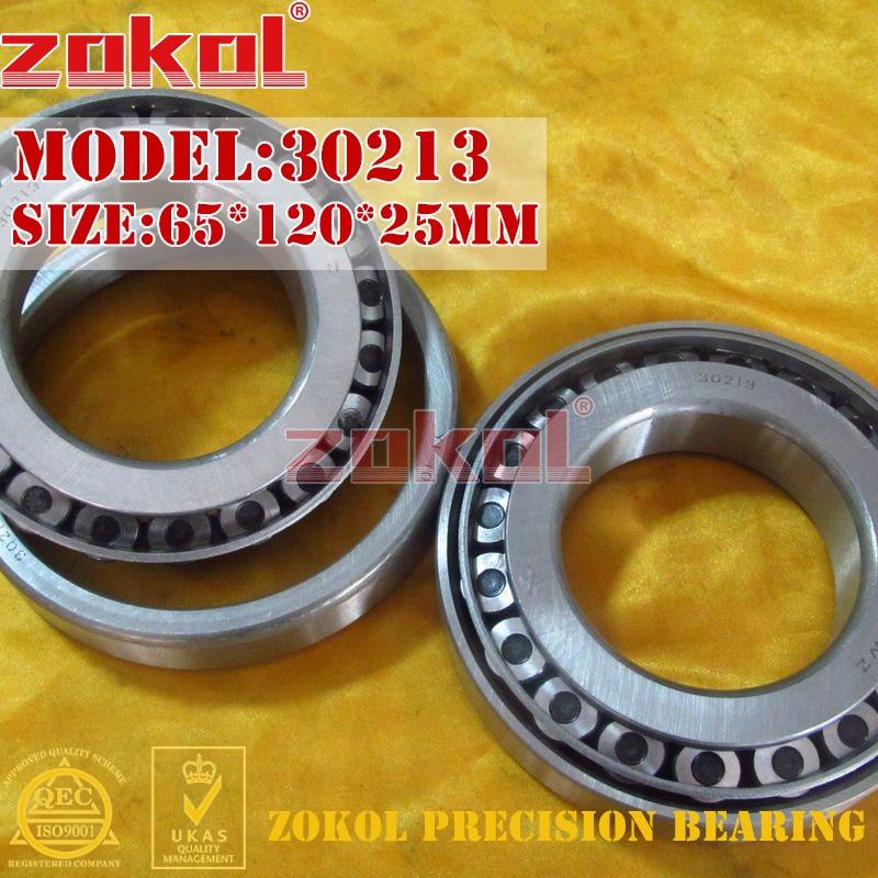 ZOKOL bearing 30213 7213E Tapered Roller Bearing  65*120*25mm zokol bearing 31310 27310e tapered roller bearing 50 110 29 5mm