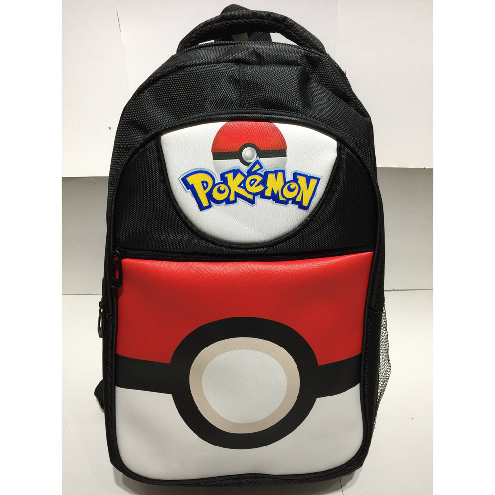 Costumes & Accessories Novelty & Special Use Anime Pokemon Nylon Waterproof Laptop Backpack Pocket Monster Double-shoulder Bag Poke Ball School Bag