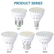 GU10 Led 220V Light Bulbs E14 Spot Light E27 Corn Lamp 2835 SMD Bombillas Led Lampadas MR16 Spotlight B22 4W 6W 8W Ampoule GU5.3 lampada de led lamp gu10 220v smd 2835 ampoule led spotlight gu 10 bombillas led bulbs ampolletas lampadas lamparas light spot