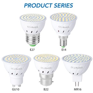 GU10 Led 220V Light Bulbs E14 Spot Light E27 Corn Lamp 2835 SMD Bombillas Led Lampadas MR16 Spotlight B22 4W 6W 8W Ampoule GU5.3
