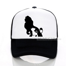 The Lion King Trucker Caps Funny Hat Cap Men Hakuna Matata Baseball Cool Summer Mesh Net for