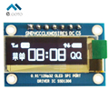 "0.91"" 0.91 Inch White OLED Display Module OLED Screen SPI Interface 128x32 SSD1306 For Arduino STM32 51"