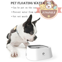 1pcs Car Pet Water Bowl Puppy Cat Floating Water Bowl Dog Food Container Pitbull French Bulldog Teddy Pet Feeder Pet Supplies