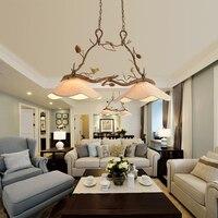 Проход кулон свет Спальня подвесные светильники Винтаж Кухня столовая Бар лампа современной гостиной подвесной светильник птица подвесны