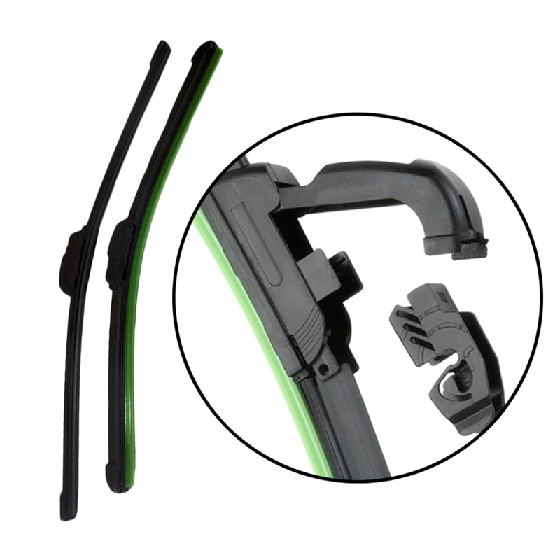1Pc Car Windshield Wiper Blade Universal U-type Soft Frameless Bracketless  14  16 17 18 19 20 21 22 24 26