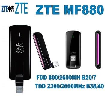 цена на Unlocked 4G ZTE MF880 LTE Modem wireless usb modem LTE 4G FDD 800/2600MHz/ TDD 2300/2600MHz