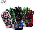 TDR Pro-Biker Motorcycle Mens' Fiber Bike Racing Gloves for Kids Womens' Snow Waterproof Glovers for Motocross SML HHY