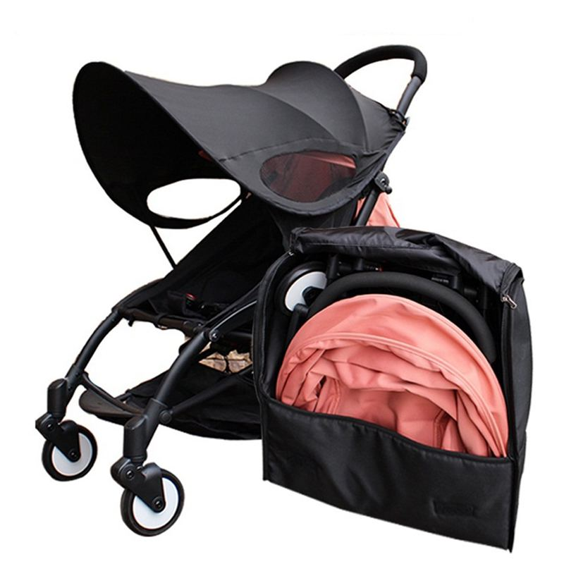 Travel Bag Carry Case Baby Stroller Backpack Oxford Cloth Waterproof Organizer For Yoyo+ Yoya Babytime Stroller Accessories