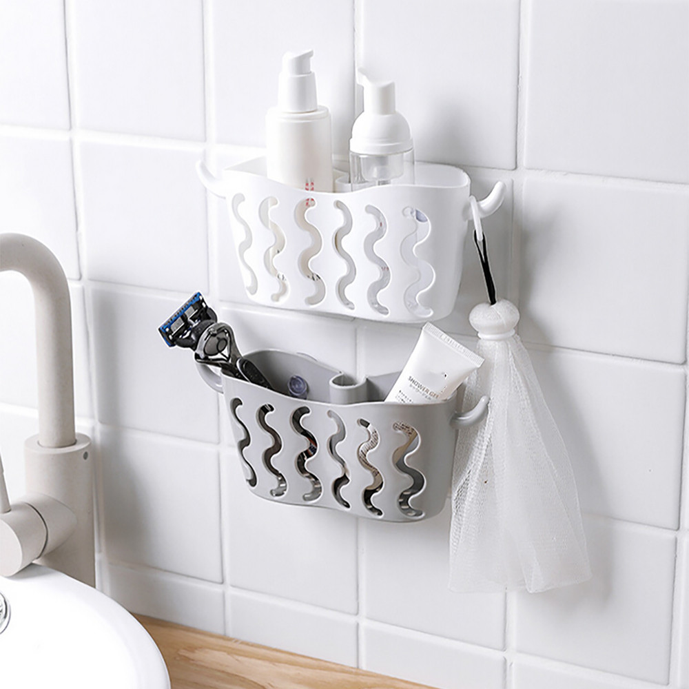 dish Rack drainer Suction Holder rak piring gantung drying dishes Rag Storage Punch-free hanging basket sponge organizador Инструмент