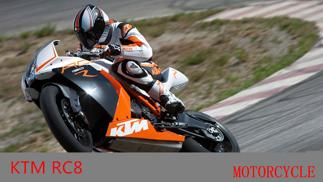 JOYCITY/1:12 Scale/Simulation Die-Cast model motorcycle toy/KTM RC8/Delicate children's toys and gifts
