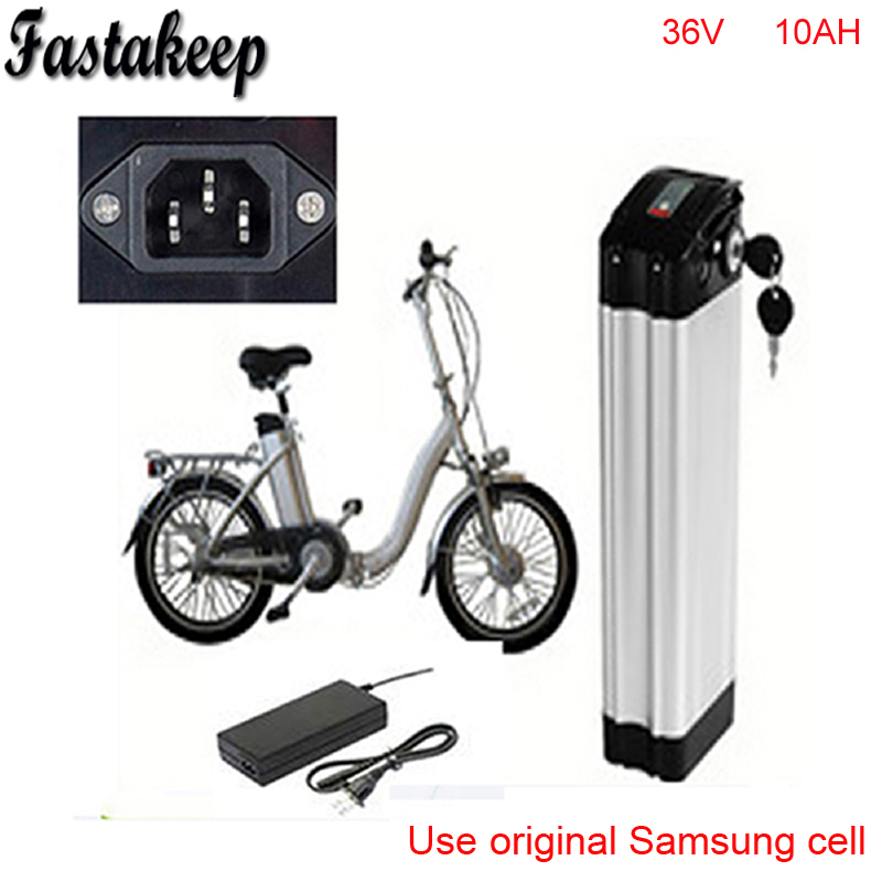 Top discharge ebike 36v battery electric bike battery 36V 10Ah for 36V bafang/8fun 500w motor with Aluminium Case+ BMS +Chargrer