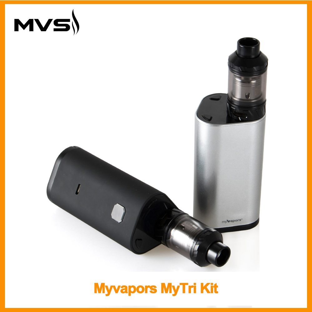 [RU] Original MyVapors MyTri Kit Output 300W VW/TC/TCR Mode Vpae Kit 510 Thread VS Myvapors Myjet Electronic Cigarette