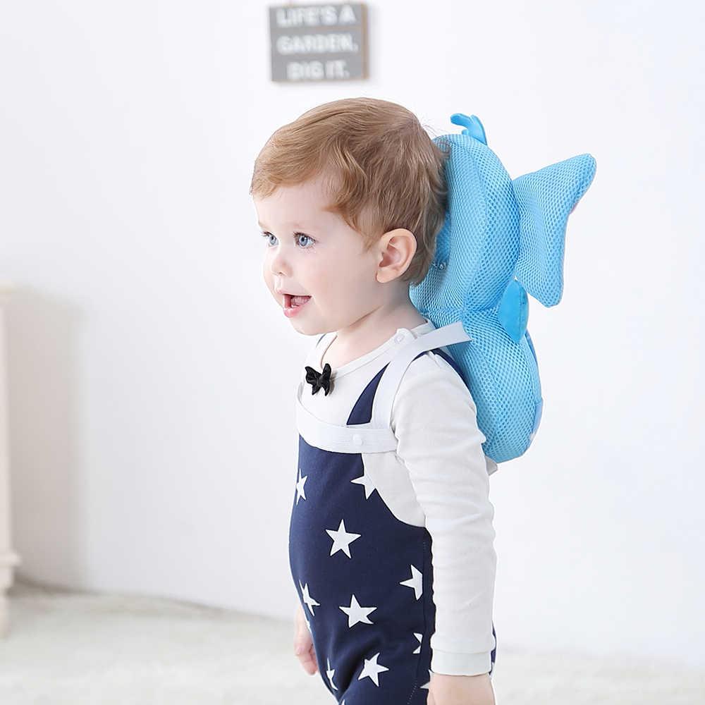Protetor de cabeça do bebê travesseiro da criança crianças almofada protetora para a aprendizagem caminhada sentar protetor de cabeça do bebê cuidado seguro 6 tipos j71