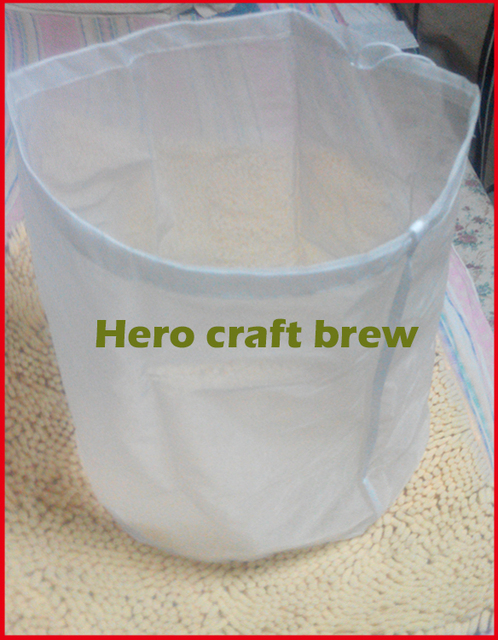 5 Gallon Fine Mesh Food Grade Home Brew Mash Filter Bag