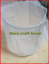 5 галлон мелкой сеткой пищевой домашнее пиво маш фильтр-мешок для партии homebrew фильтра мешок ведро можно подгонять