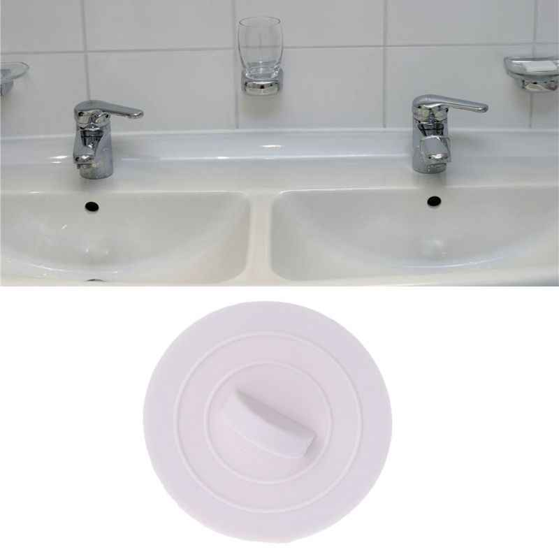 Rubber Bathtub Sink Wash Basin Plug Stopper Drain Stop For Home Kitchen Bathroom