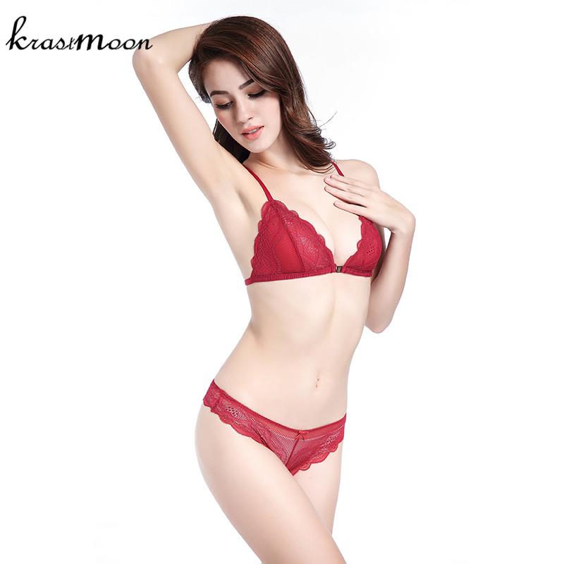 a00217c1558 France Brand Sexy Thin Lace Bra Set Underwear Women Front Closure Bras and Panties  Y Shape Lingerie Set Bra Brief Sets BS178-in Bra   Brief Sets from ...