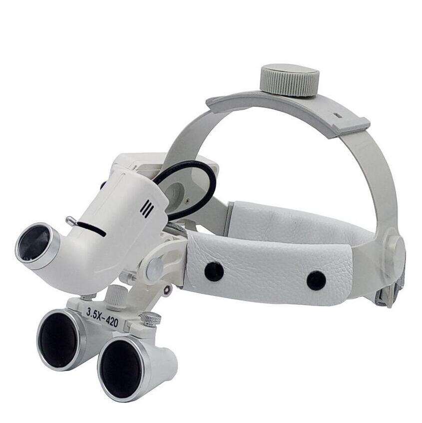 5W Medical Magnifier Loupes Led Lamp Adjustable Size High -5988
