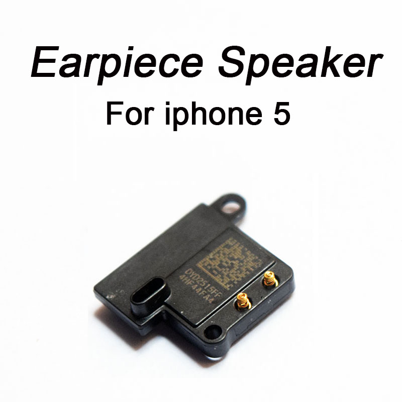 HOUSTMUST brand 1Pcs New Earpiece Flex Ear Speaker for iPhone 5 Listening Replacement Parts-in