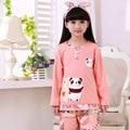 Meninas Pijamas Pijamas Para Crianças Em Torno Do Pescoço de Roupas Da Família Pijama Bebê Crianças treino urso Dos Desenhos Animados manga longa pijamas 40 #