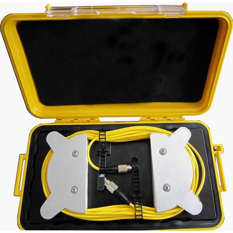 imágenes para SC UPC Monomodo 9/125um, OTDR Launch Box Cable SC G652 línea de extensión de Pruebas de OTDR OTDR de fibra óptica del probador 1 KM Envío gratis