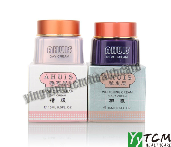 superfine Taiwan AHUIS day cream+night cream whitening cream for face cream skin care original~ skin care original whitening cream for face bailianna day cream night cream removal freckle superfine