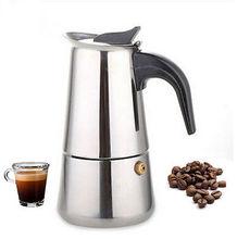 300 ML Edelstahl Moka Express 6-Cup Kaffeemaschine Herd Espresso Topf