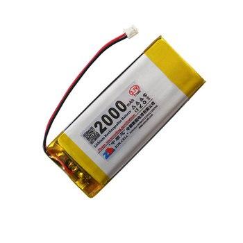 CIS 2000mAh 802765 3,7 V teclado inalámbrico Bluetooth batería de litio de polímero de Ana 402764*2