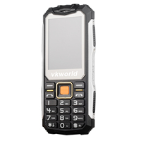 Russian Keyboard VKworld Stone V3S Phone Waterproof Featured Phone 2.4 inch Dual SIM Dual Standby GSM Network LED Light