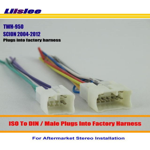 Liislee Car Wiring Harness For SCION iQ TC XA XB XD Car Stereo Adapter Connector Plugs_640x640 tc wiring harness on tc download wirning diagrams 2005 scion tc wiring harness at n-0.co
