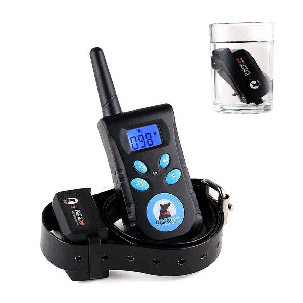 1Set Rechargeable Remote Blue Screen Waterproof Vibrate Shake Pet Dog Training Bark Stop Collar Trainer Pet Dog No Bark Collar1Set Rechargeable Remote Blue Screen Waterproof Vibrate Shake Pet Dog Training Bark Stop Collar Trainer Pet Dog No Bark Collar