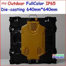 P10 открытый прокат smd дисплей, 640 мм * 640 мм, Ip65, Высокое referesh, Высокая серая класса, Высокая яркость 7500 нит, P8, P6