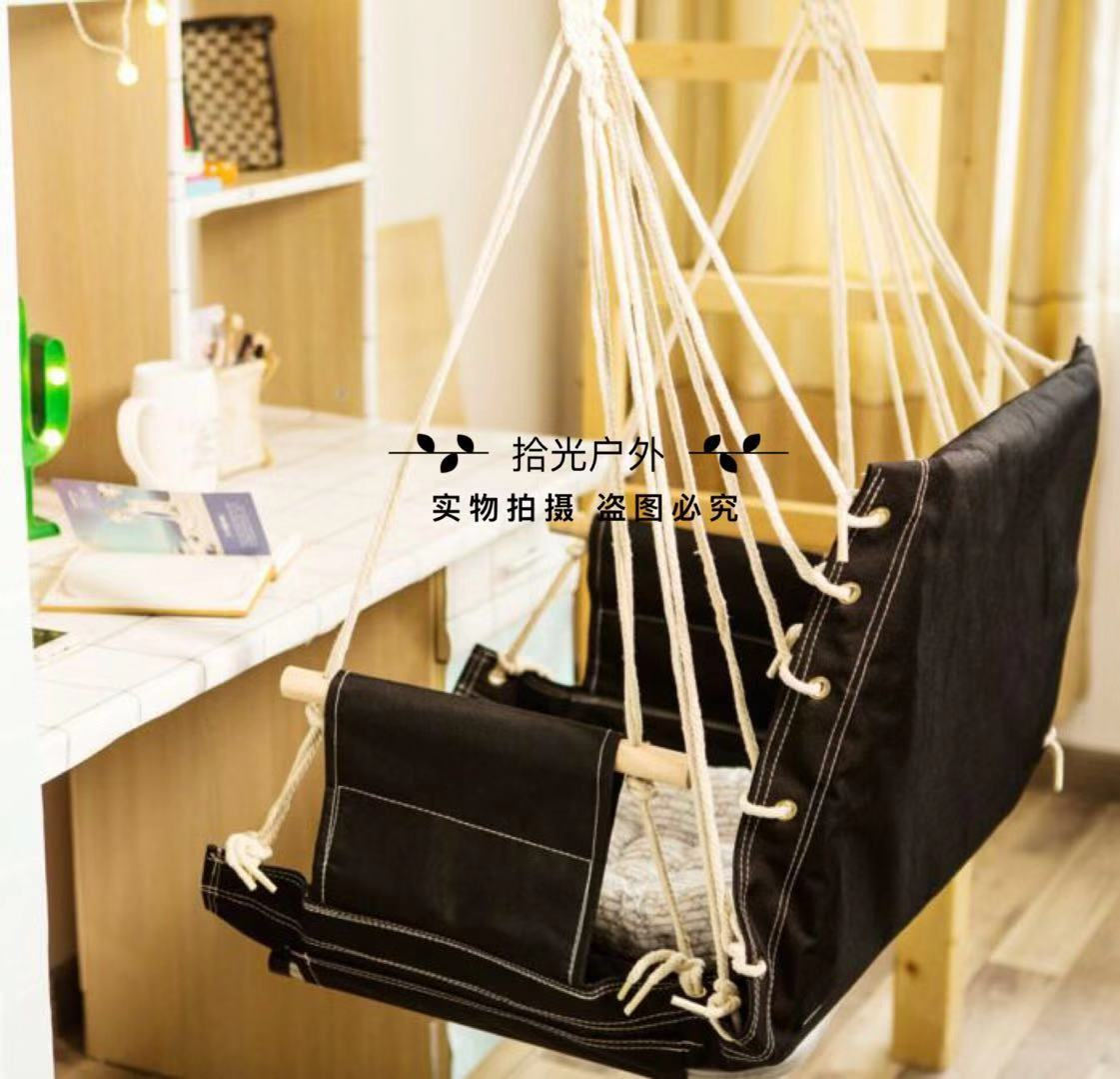 Indoor Hanging Chairs Dormitory Hanging Chair Dormitory University Students Thickened Hanging Bed Dormitory Artifacts Indoor Swing Household Children