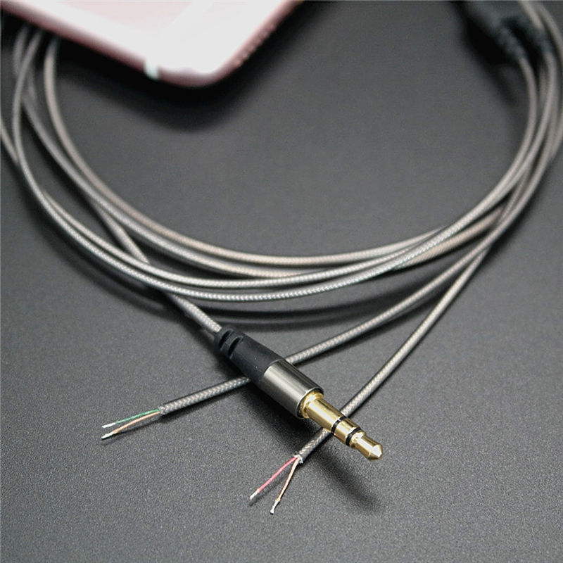 Ollivan 3.5mm 3 Pole DIY Earphone Audio Cable Headphone ...