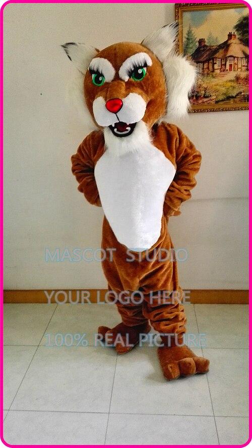 d32ddfe95c Maskotka maskotki kobieta wildcat bobcat courgar kostium postać z kreskówek  anime karnawał fancy dress kostium