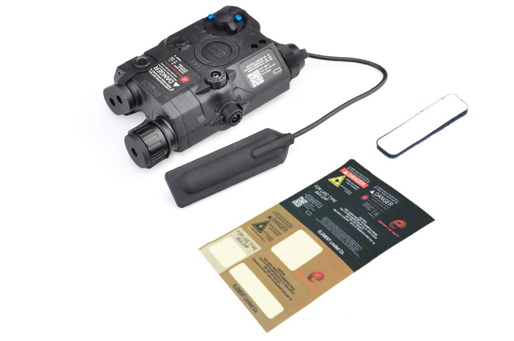 ELEMENT PEQ 15 / LA-5C UHP APPEARANCE Red & IR Laser and flashlight For Hunting two color