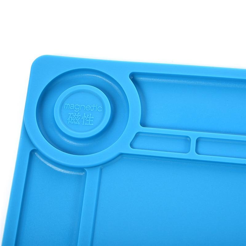 S140 35x25cm Piattaforma di manutenzione per tappetino da scrivania - Attrezzatura per saldare - Fotografia 6