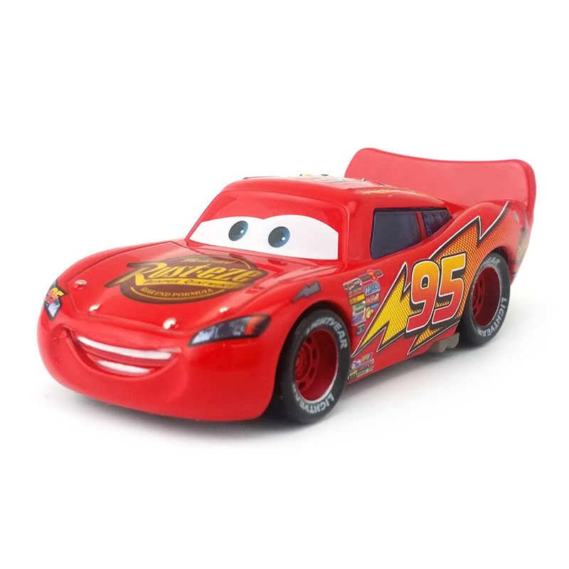 Toys & Hobbies Hot Disney Plating Cars Color Silver Gold Lightning Mcqueen Metal Diecast Toy Car 1:55 High Quality Rare Boy Toy Car