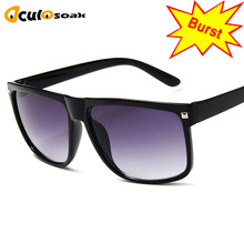 Oversized Womens Sunglasses Fashion Sun Glasses Big Frame Windproof Shades Men Flat Top Driving Goggles UV400
