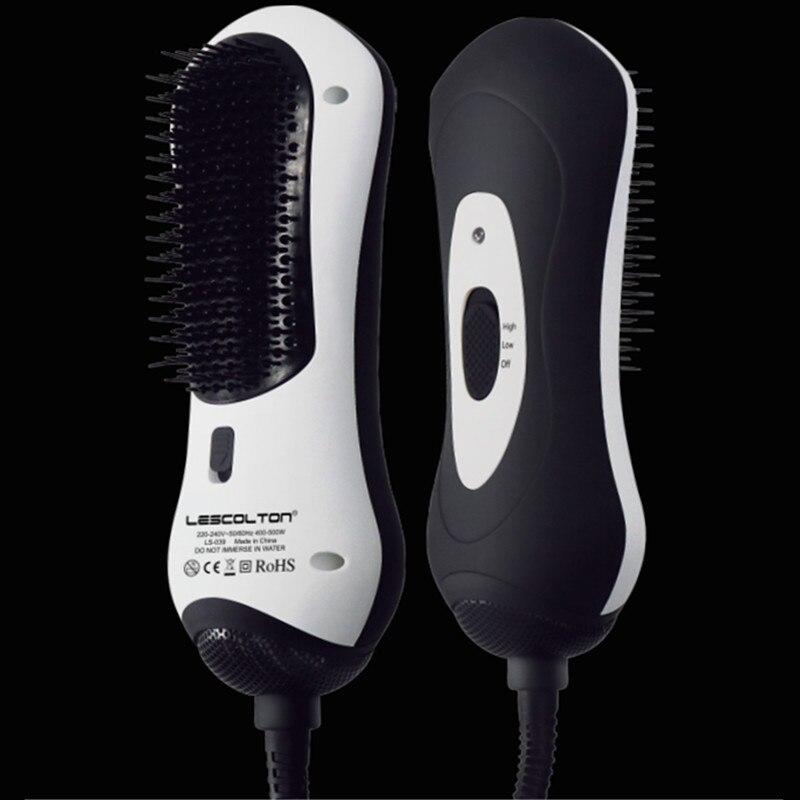 Far Infrared Hair Dryer Brush Multi Function Electric Hair Blow Dryer Brush Hot Air Hair Curls Comb Salon Hair Styler цена