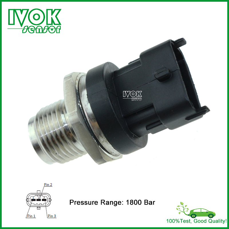 M18x1 5 Diesel Fuel Rail Pressure Sensor For Renault Mercedes MWM VW 0281002907 0281002920 0281002720 0281002834