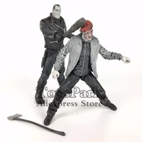 ToysPark The Walking Dead 5 Negan & Gleen Black White Action Figure Comic Mcfarlane SDCC Skybound Exclusive Collectible Loose