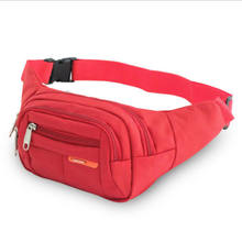 New Fanny Nylon Waist Pack For Men Women Hip Belt Bag Purse Pouch Pocket Travel Sport Bum Chest Bag Waterproof(China)