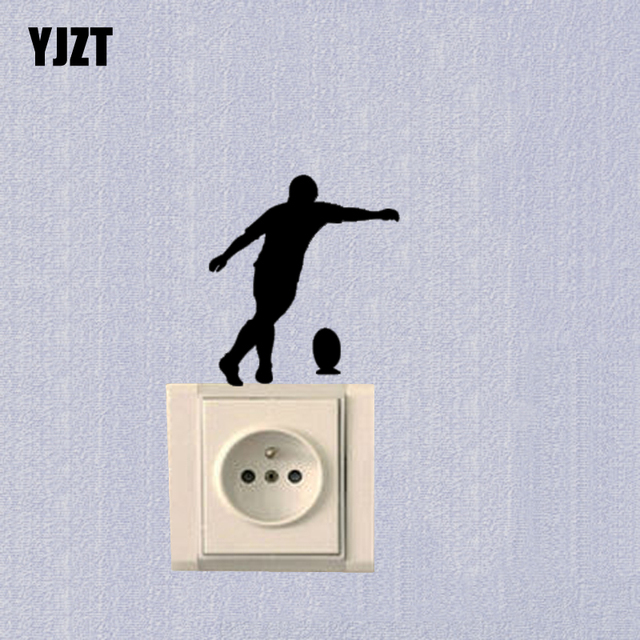 Sports Rugby Bedroom Switch Sticker Fashion Vinyl Decoration Decal 7SS0467