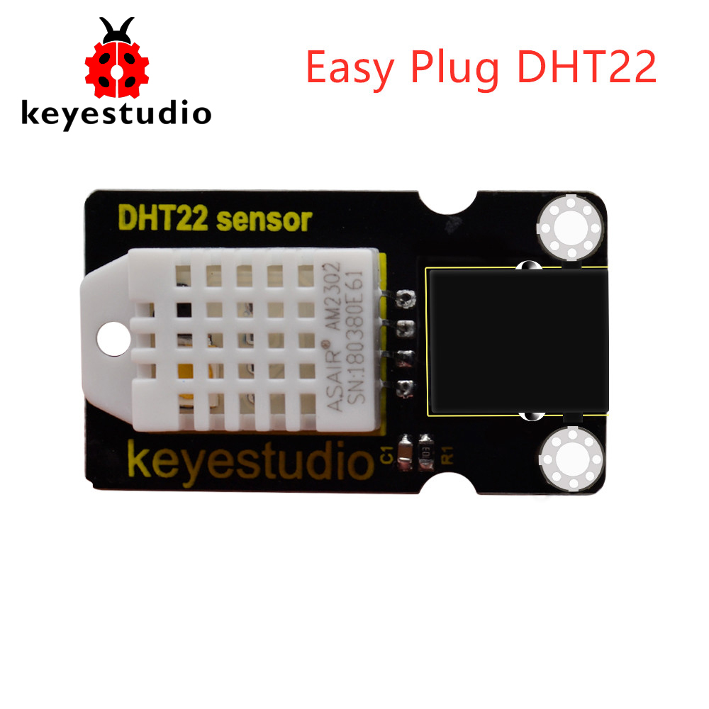 Keyestudio RJ11 Easy Plug DHT22 (AM2302)Temperature and Humidity Sensor for  Arduino Uno r3Keyestudio RJ11 Easy Plug DHT22 (AM2302)Temperature and Humidity Sensor for  Arduino Uno r3