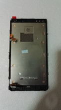 Lcd display +touch glass digitizer+frame assembly full set For nokia lumia 920 n920 free shipping