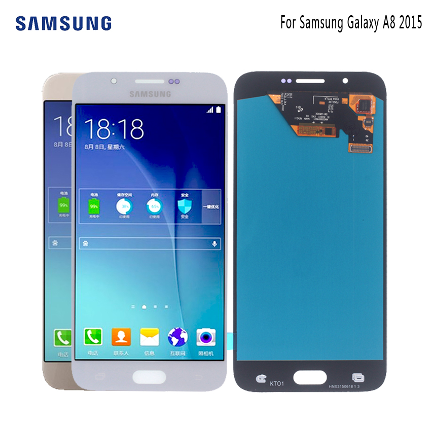 AMOLED For SAMSUNG Galaxy A8 2015 LCD Display Touch Screen A8000 A800 A800F Display Screen LCD Digitizer Phone Parts LCD ToolsAMOLED For SAMSUNG Galaxy A8 2015 LCD Display Touch Screen A8000 A800 A800F Display Screen LCD Digitizer Phone Parts LCD Tools