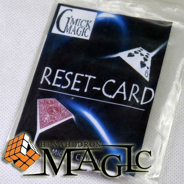 Reset Card by Mickael Chatelain / close-up card magic trick / wholesale