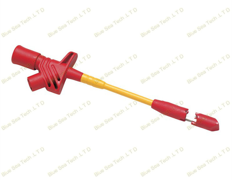 Insulation Quick Test Hook with 4mm Banana Plug,Automotive Piercing Test Probe